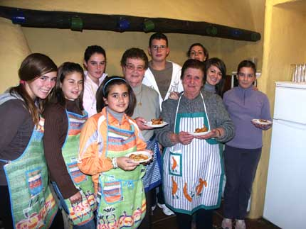 Talleres de cocina La abuela cocina que te mueres
