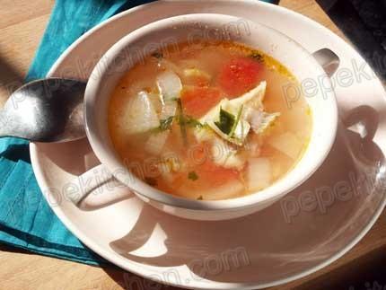 Receta de sopa de pescado ligera