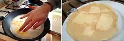Crepes de queso
