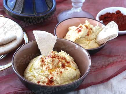 Receta de hummus con tahina