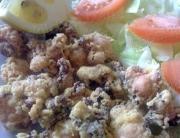 Pulpo frito, receta tradicional malagueña