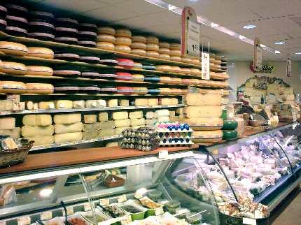 Tienda de quesos en Holanda