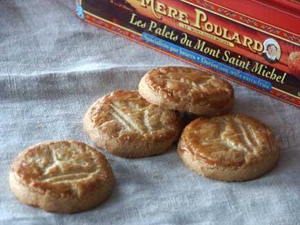 Galletas de mantequilla francesas