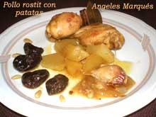 Receta de pollo rostit con patatas