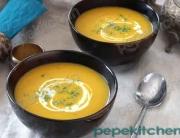 receta de sopa de calabaza y cardamomo