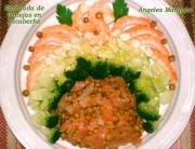 Receta de lentejas en escabeche con salmón