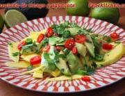 Receta de ensalada de mango y aguacate