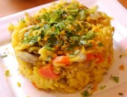 Receta de risotto de alcachofas y zanahorias