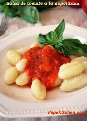 Receta de salsa de tomate casera a la napolitana