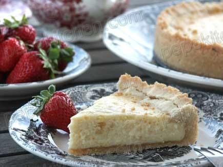 Receta de tarta de queso casera