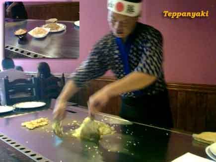El teppanyaki, cocina a la plancha japonesa - Pepekitchen