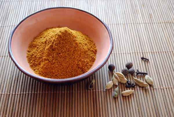 Garama masala o polvo picante