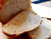 Pan alemán con semillas de alcaravea © José Maldonado