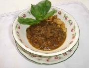 Pesto trapanese. María para Pepekitchen.com