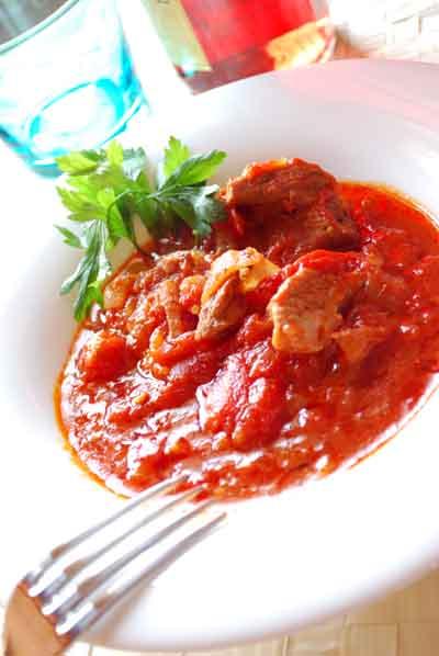 Carne con tomate © José Maldonado