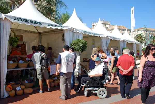 Feria de productos ecológicos Málaga © José Maldonado