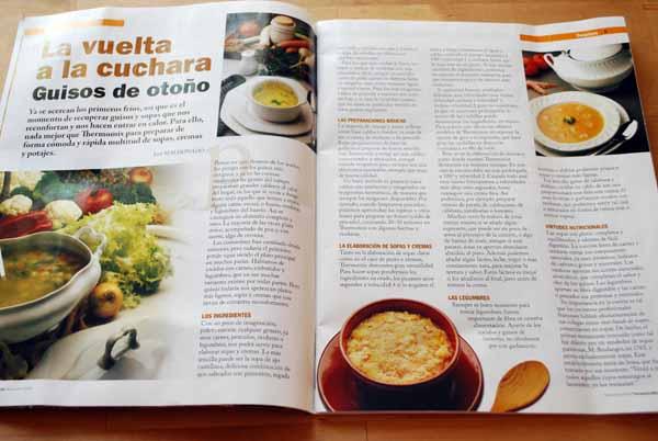 Artículo de sopas y guisos de otoño por José Maldonado