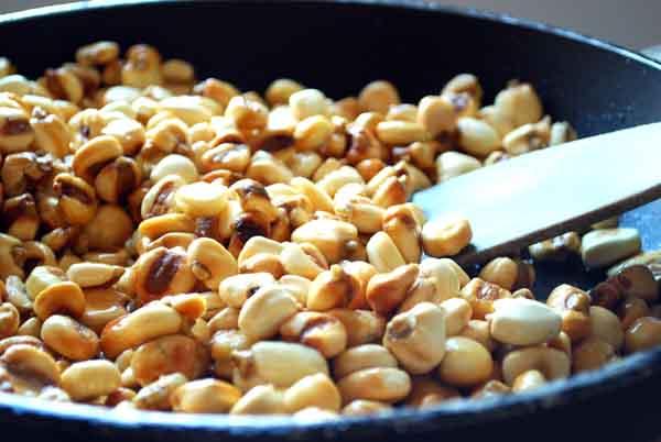 Mi receta de kikos caseros, maíz frito © José Maldonado