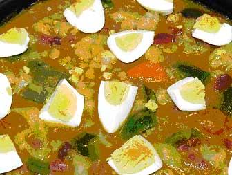 Menestra de verduras con salsa española, Raquel Franco para Pepekitchen
