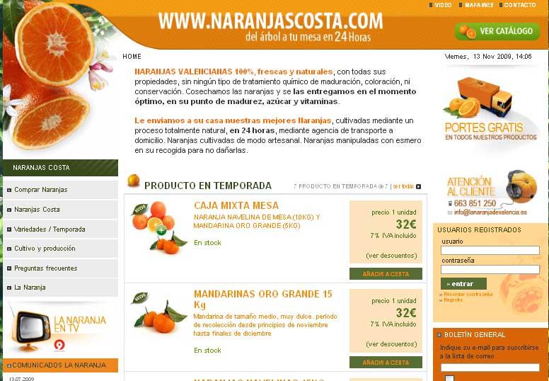 Naranjas costa tienda online de naranjas del rbol a la - Naranjas del arbol a la mesa ...