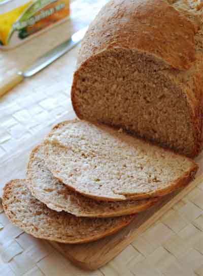 Pan integral de avena © José Maldonado