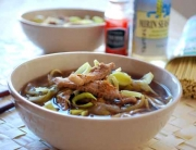 Sopa de fideos japonesa © José Maldonado