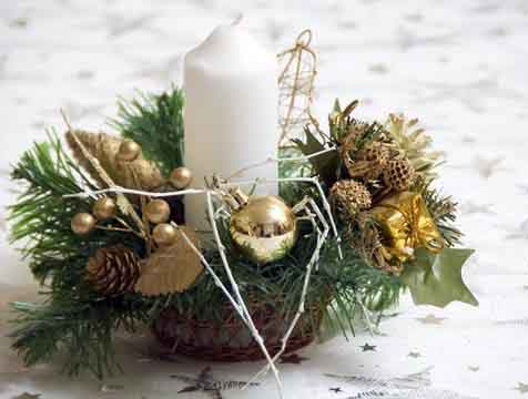 Mis ideas para la cena de navidad consejos c mo - Adornos navidenos artesanales ...