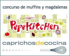 logo concurso muffins pepekitchen-caprichosdecocina