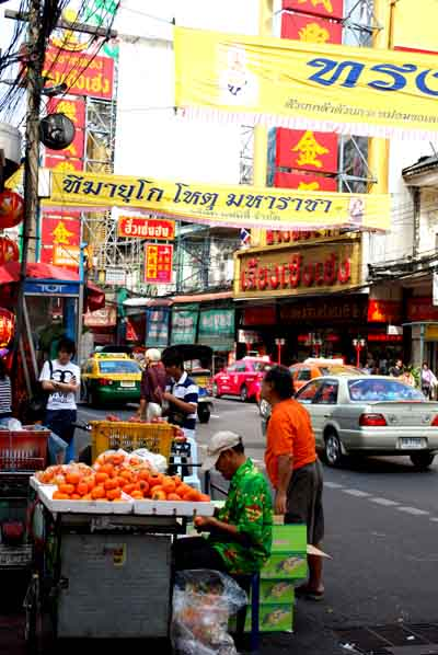 Barrio chino de Bangkok © José Maldonado