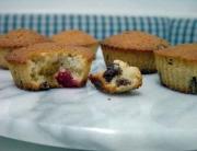 muffins frutas