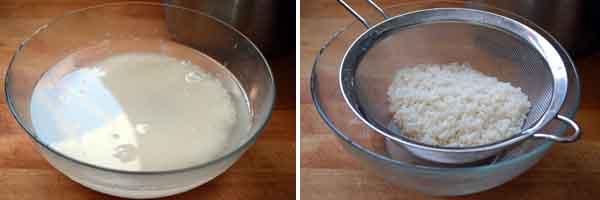 C mo hacer el arroz para sushi t cnica paso a paso curso for Como hacer arroz para sushi