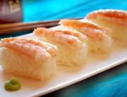 nigiri sushi langostinos