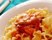 Pasta con salsa de setas © José Maldonado