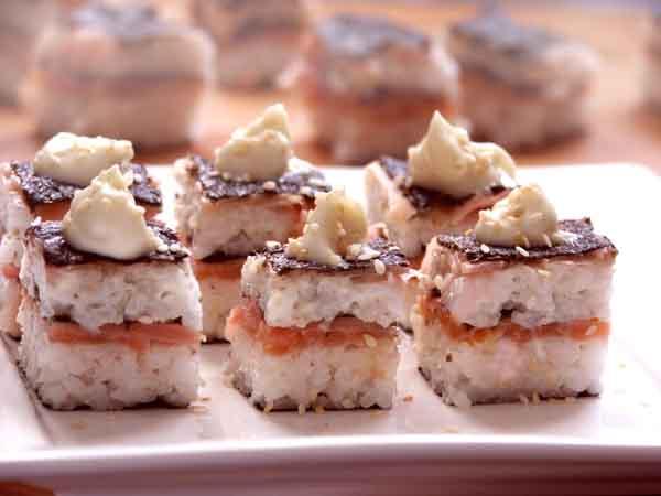 sushi prensado