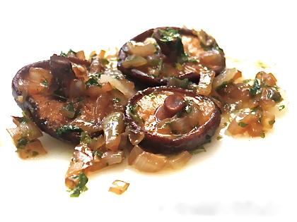 shiitake marinados