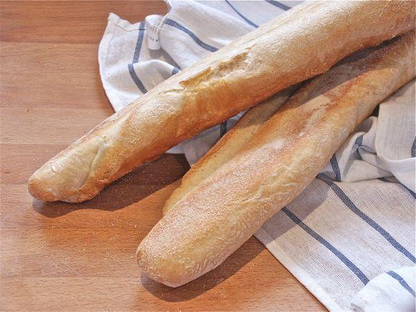 La baguette, receta de pan tradicional paso a paso