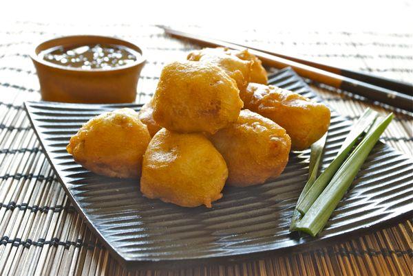 buñuelos de cerdo chinos