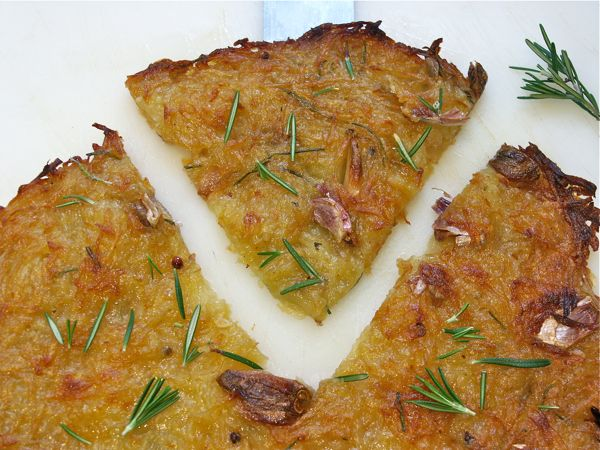 rösti de patatas al romero