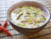 sopa lima y coco