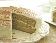 tarta de té verde con mascarpone y chocolate