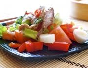 ensalada ternera hierbabuena