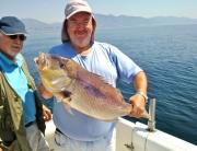 Una buena pesca en Málaga