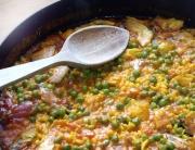 mi receta de paella
