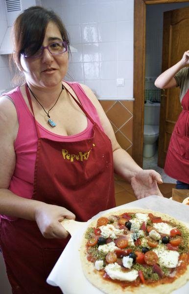 Curso de cocina italiana pizzas pepekitchen en m laga 10 julio 2010 pepekitchen - Curso de cocina italiana madrid ...