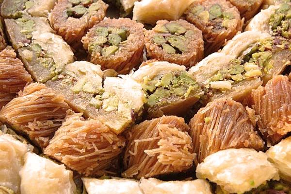 dulces arabes