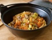 fideos yakisoba de ternera y verduras, curso cocina japonesa pepekitchen - 11