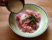 salchichas caseras de pavo y parmesano - 2