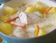 waterzooi de pollo, receta belga - 6