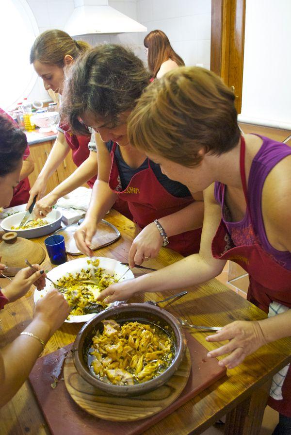 Primer curso de cocina marroqu pepekitchen m laga 26 - Clases cocina malaga ...