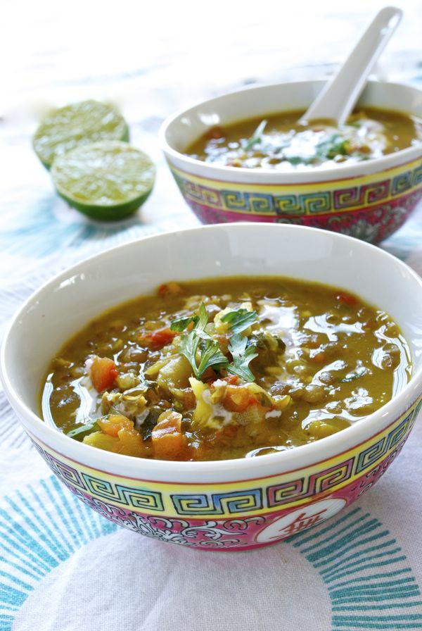 curry de lentejas y coco - 2
